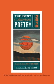 The Best American Poetry 2010 - Series Editor David Lehman ebook by Amy Gerstler, David Lehman