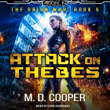 Attack on Thebes audiobook by M. D. Cooper
