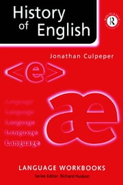 History of English ebook by Jonathan Culpeper