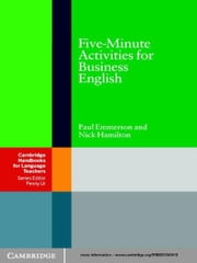Five-Minute Activities for Business English ebook by Dr Paul Emmerson,Nick Hamilton