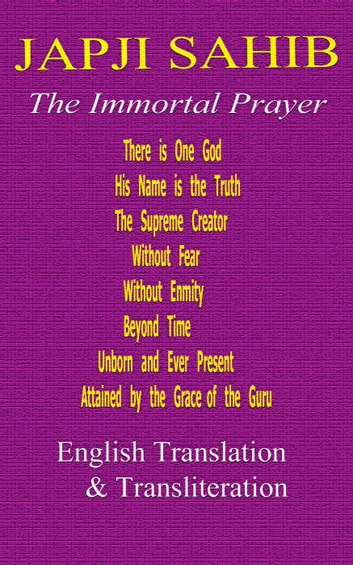Japji Sahib - English Translation & Translation ebook by God