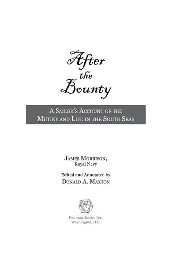 After the Bounty ebook by Donald Maxton