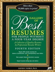 Gallery of Best Resumes Without a Four-Year Degree ebook by David F. Noble Ph.D