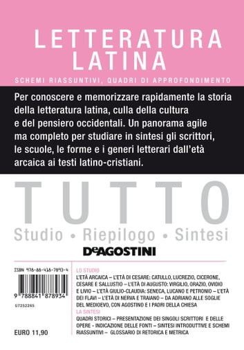 TUTTO Letteratura latina ebook by Aa. Vv.