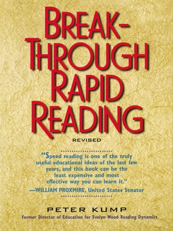 Breakthrough Rapid Reading Ebook By Peter Kump