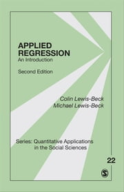 Applied Regression - An Introduction ebook by Colin Lewis-Beck,Michael S. Lewis-Beck