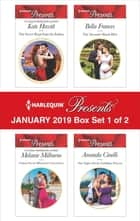 Harlequin Presents January 2019 - Box Set 1 of 2 - An Anthology ebook by Kate Hewitt, Melanie Milburne, Bella Frances,...
