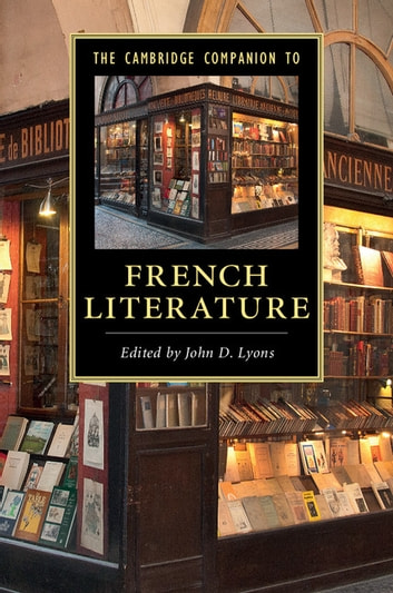 The Cambridge Companion to French Literature ebook by