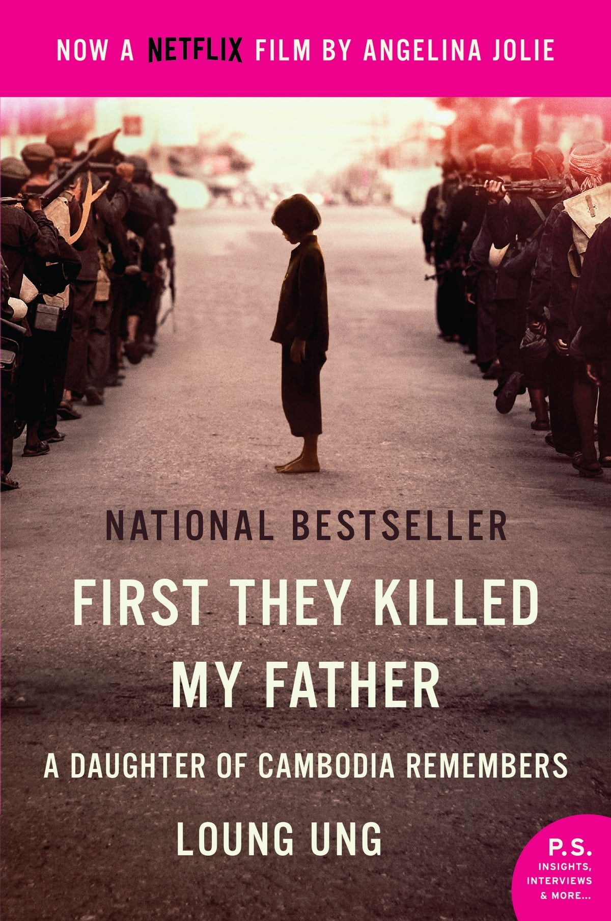 first they killed my father loung ung First they killed my father: a daughter of cambodia remembers (movie tie-in) by loung ung from a childhood survivor of the camdodian genocide under the regime of pol pot, this is a riveting narrative of war crimes and desperate actions, the unnerving strength of a small girl and her family, and their triumph of spirit— now a netflix film by .