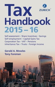 Zurich Tax Handbook 2015-16 ebook by Gerald Mowles,Mr Anthony Foreman