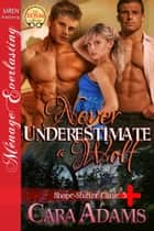 Never Underestimate a Wolf ebook by Cara Adams