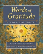 Words of Gratitude Mind Body & Soul ebook by Emmons, Robert