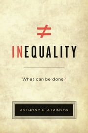 Inequality ebook by Anthony B. Atkinson