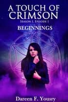 Beginnings - A Touch of Crimson ebook by Dareen F. Yousry