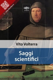 Saggi scientifici ebook by Vito Volterra