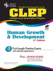 CLEP Human Growth and Development 8th Ed. ebook by Patricia Heindel