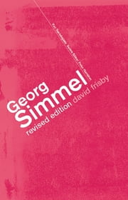 Georg Simmel ebook by David Frisby