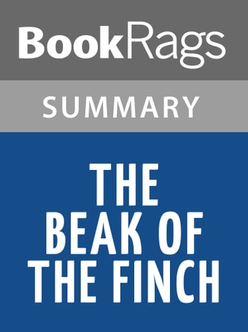 a literary analysis of the beak of the finch by jonathan weiner 2015-01-17  official website for jonathan weiner,  fascinating history of the quest for longevity in art, science, and literature,  the beak of the finch.