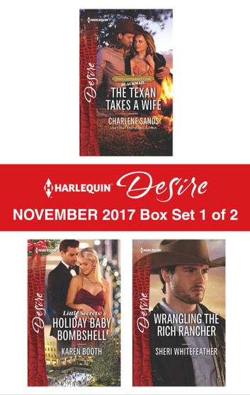 Harlequin Desire November 2017 - Box Set 1 of 2 - An Anthology ekitaplar by Charlene Sands,Karen Booth,Sheri WhiteFeather
