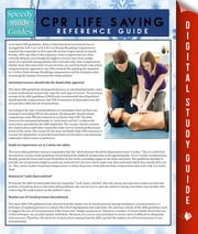 CPR Lifesaving Reference Guide (Speedy Study Guide) ebook by Speedy Publishing