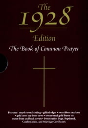 The 1928 Book of Common Prayer ebook by Oxford University Press