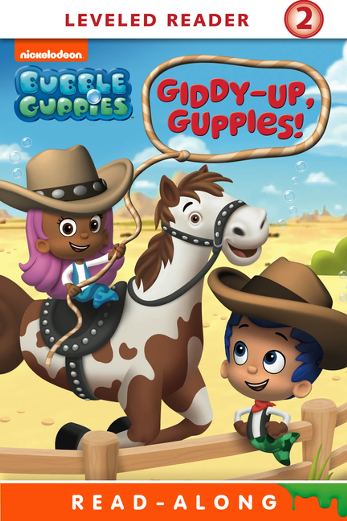 giddy up guppies nickelodeon read along bubble guppies ebook by