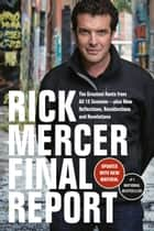 Rick Mercer Final Report ebook by Rick Mercer