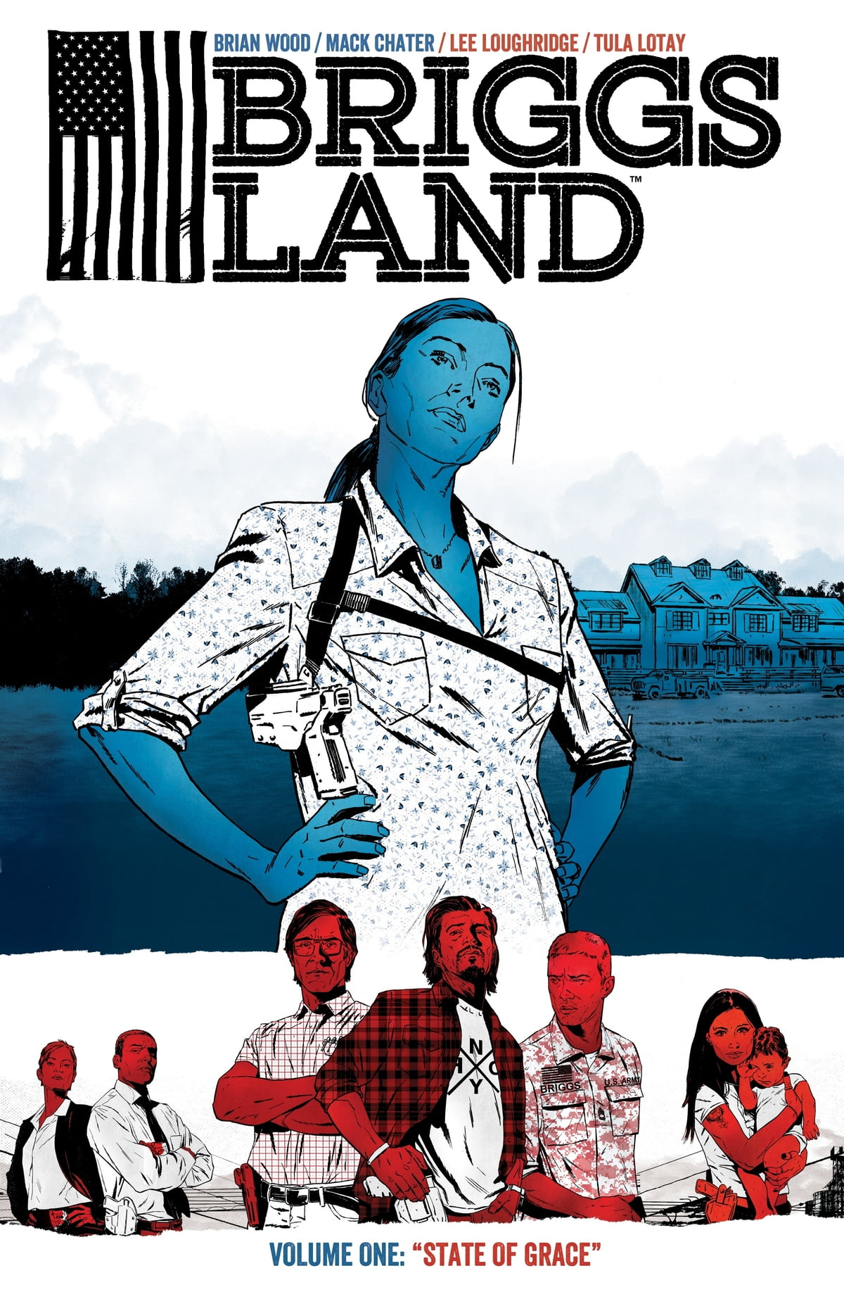 Briggs Land Volume 1: State of Grace eBook by Brian Wood - 9781630086725 |  Rakuten Kobo