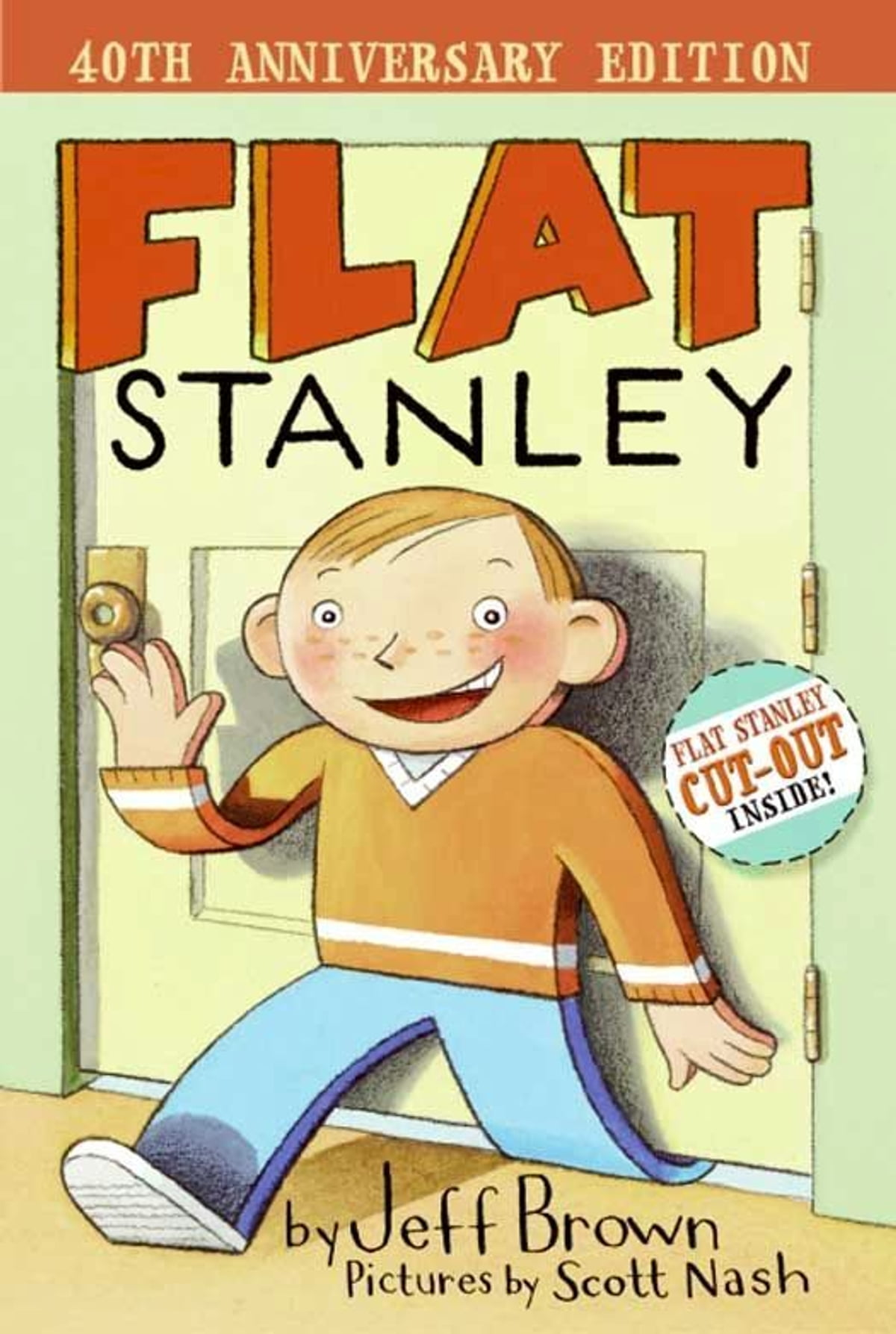 Picture of a Flat Stanley book cover.