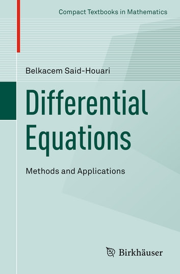 Differential Equations: Methods and Applications ebook by Belkacem Said-Houari