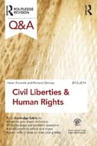 Q&A Civil Liberties & Human Rights 2013-2014 ebook by Helen Fenwick,Richard Glancey