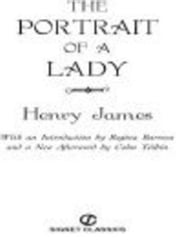 The Portrait of A Lady ebook by Henry James,Colm Toibin,Regina Barreca