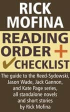 Rick Mofina Reading Order and Checklist ebook by Crime LineUp