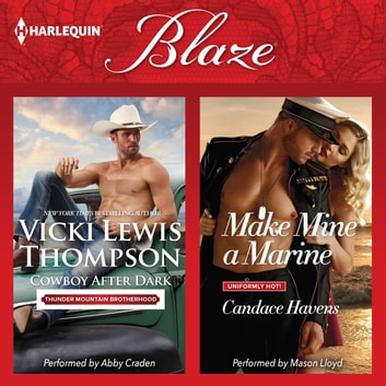 Cowboy After Dark & Make Mine a Marine - (Thunder Mountain Brotherhood) audiobook by Vicki Lewis Thompson,Candace Havens