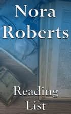 Nora Roberts - Reading List ebook by Edward Peterson