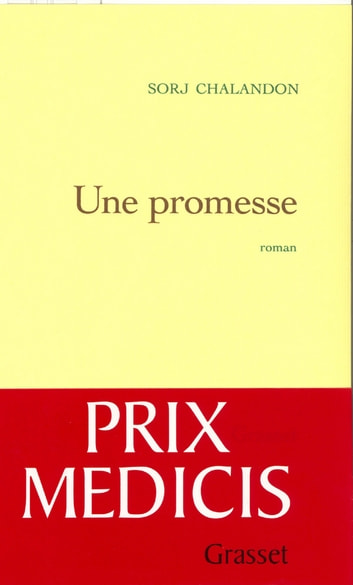 Une promesse ebook by Sorj Chalandon