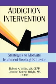 Addiction Intervention - Strategies to Motivate Treatment-Seeking Behavior ebook by Bruce Carruth,Deborah G Wright,Robert K White