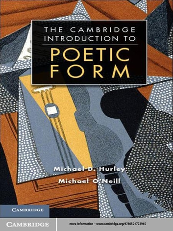 Poetic form ebook by michael d hurley 9781139411158 rakuten kobo poetic form an introduction ebook by michael d hurleymichael oneill fandeluxe Image collections