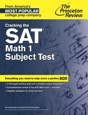 Cracking the SAT Math 1 Subject Test ebook by Princeton Review