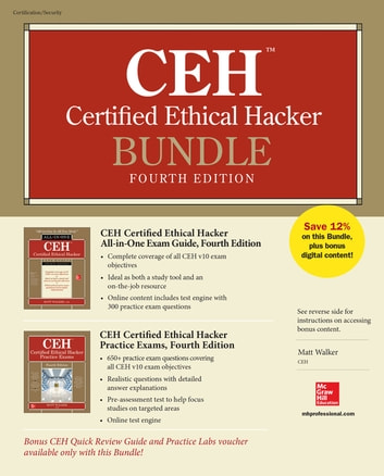 CEH Certified Ethical Hacker Bundle, Fourth Edition ebook by Matt Walker -  Rakuten Kobo