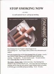 Stop Smoking Now s.d. version ebook by rodney maile