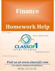 Calculation of Various Financial Ratios from the Given Information ebook by Homework Help Classof1