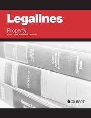 Legalines on Property Keyed to Dukeminier ebook by Publishers Editorial Staff