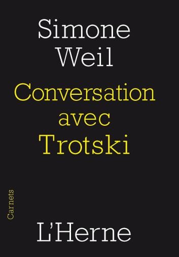 Conversation avec Trotski eBook by Simone Weil