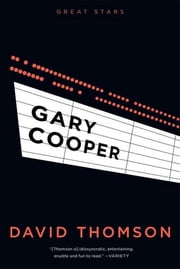 Gary Cooper ebook by David Thomson