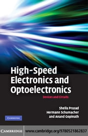 High-Speed Electronics and Optoelectronics ebook by Prasad, Sheila