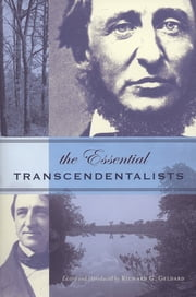 Essential Transcendentalists ebook by Richard G. Geldard