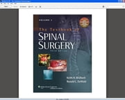The Textbook of Spinal Surgery ebook by Keith H. Bridwell,Ronald L. DeWald