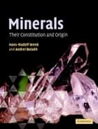 Minerals - Their Constitution and Origin ebook by Hans-Rudolf Wenk, Andrei Bulakh