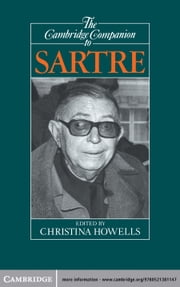 The Cambridge Companion to Sartre ebook by Christina Howells